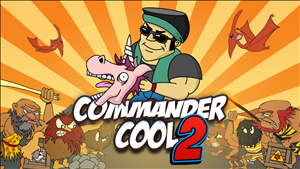 Commander Cool 2 cover art