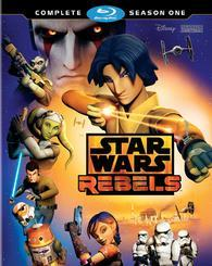 Star Wars: Rebels - Complete Season One cover art