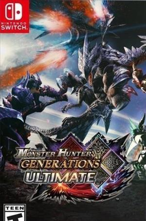 Monster Hunter Generations Ultimate cover art