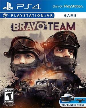 Bravo Team cover art