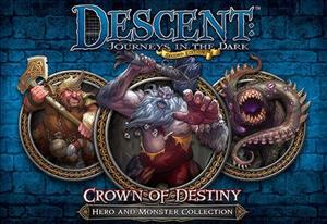 Descent: Journeys in the Dark (Second Edition) – Crown of Destiny cover art