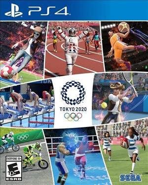 Olympic Games Tokyo 2020: The Official Video Game cover art