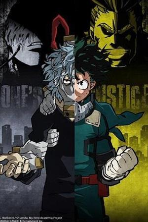 My Hero One's Justice cover art