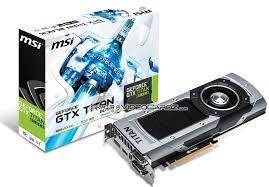MSI GeForce GTX TITAN BLACK cover art