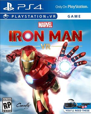 Marvel's Iron Man VR cover art