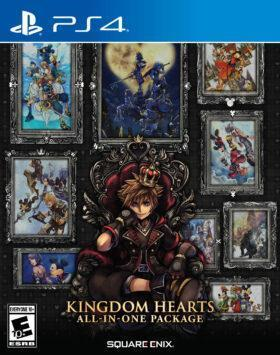 Kingdom Hearts All-In-One Package cover art