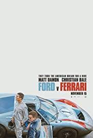 Ford v Ferrari cover art