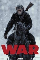War for the Planet of the Apes cover art