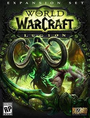 World of Warcraft: Legion cover art