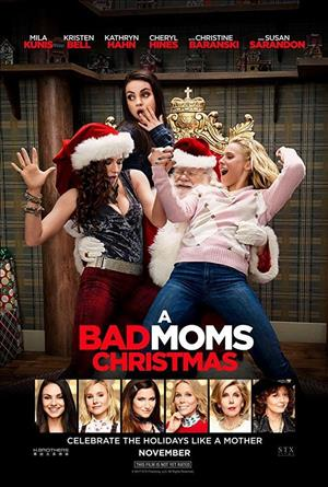 A Bad Moms Christmas cover art