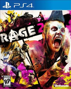 Rage 2 cover art