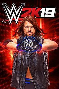 WWE 2K19 cover art