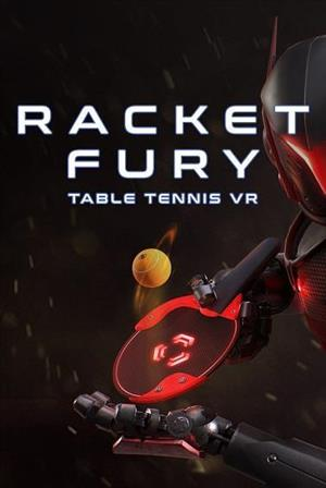 Racket Fury: Table Tennis VR cover art