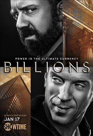 Billions Season 1 cover art