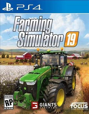 Farming Simulator 19 cover art