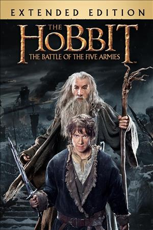 The Hobbit: The Battle of The Five Armies - Extended Edition cover art