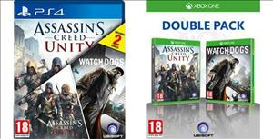 Assassin's Creed: Unity & Watch Dogs Double Pack cover art