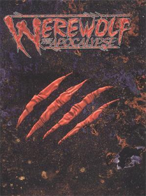 Werewolf: The Apocalypse cover art