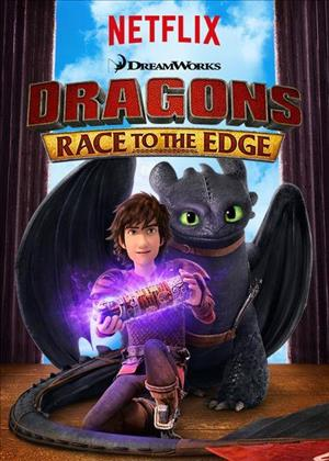 Dragons: Race to the Edge Season 2 cover art