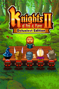 Knights of Pen & Paper 2 Deluxiest Edition cover art