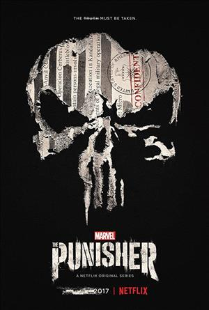 The Punisher Season 1 cover art