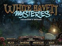 White Haven Mysteries cover art