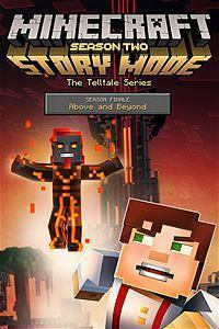Minecraft: Story Mode - Season Two: Episode 5 - Above and Beyond cover art
