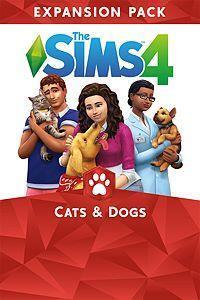 The Sims 4: Cats & Dogs cover art
