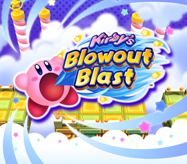Kirby's Blowout Blast cover art