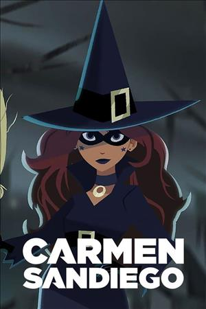 Carmen Sandiego Season 4 cover art