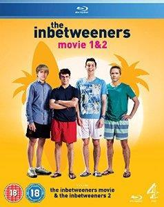 The Inbetweeners movie 1 & 2 Blu-ray Box Set cover art