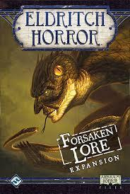 Eldritch Horror - Forsaken Lore Expansion cover art
