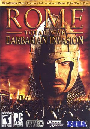 ROME: Total War - Barbarian Invasion cover art