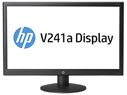 "HP 23.6"" V241A LED Monitor cover art"