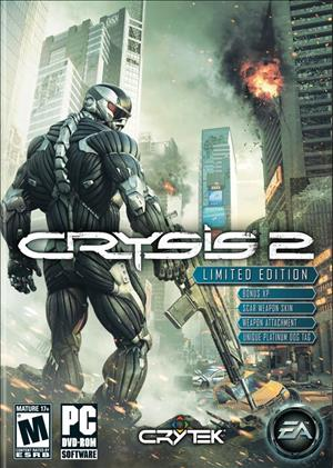 Crysis 2 cover art