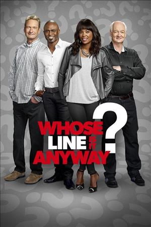 Whose Line Is It Anyway? Season 14 cover art