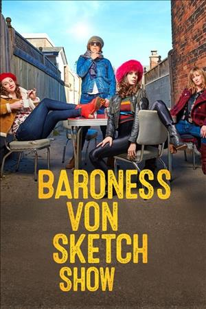 Baroness von Sketch Show Season 4 cover art