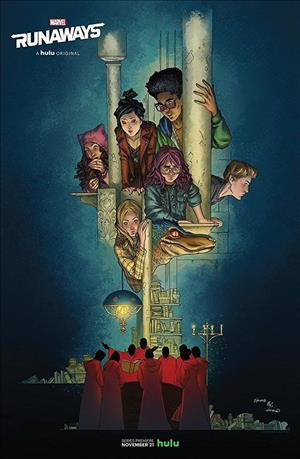 Marvel's Runaways Season 1 cover art