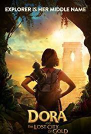 Dora and the Lost City of Gold cover art