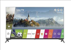 LG UJ7700 LED UHD TV cover art