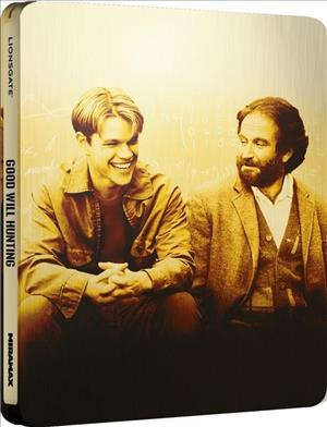 Good Will Hunting - Limited Edition Steelbook cover art