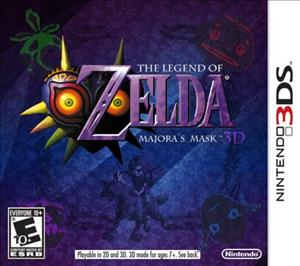 The Legend of Zelda: Majora's Mask 3D cover art