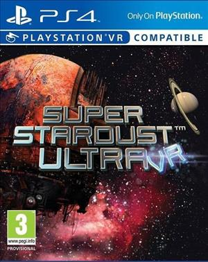 Super Stardust Ultra VR cover art