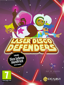 Laser Disco Defenders cover art