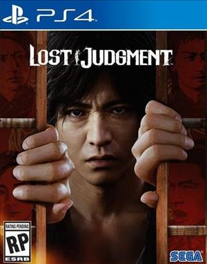 Lost Judgment cover art
