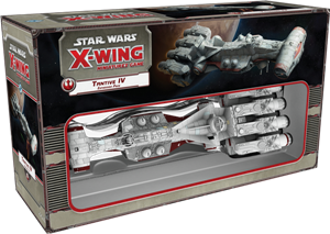 Star Wars: X-Wing Miniatures Game – Tantive IV Expansion Pack cover art