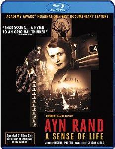 Ayn Rand: A Sense of Life cover art