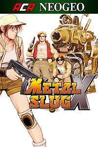 ACA NeoGeo Metal Slug X cover art