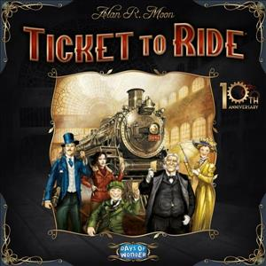 Ticket to Ride: 10th Anniversary Edition cover art