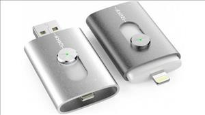 iStick: USB Flash Drive with Lightning for iPhone and iPad cover art
